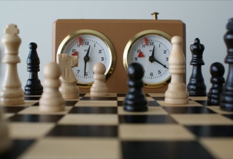 chess game with classical clock